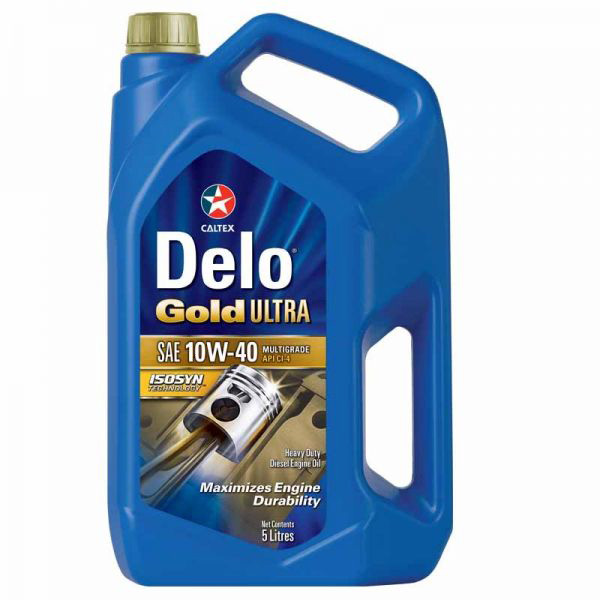 Моторне масло Delo Gold ultra T 10W-40, 5л