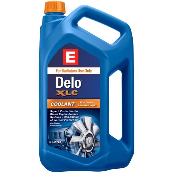 Охолоджуюча рідина Delo XLC Antifreeze/Coolant premixed 50/50, 5л
