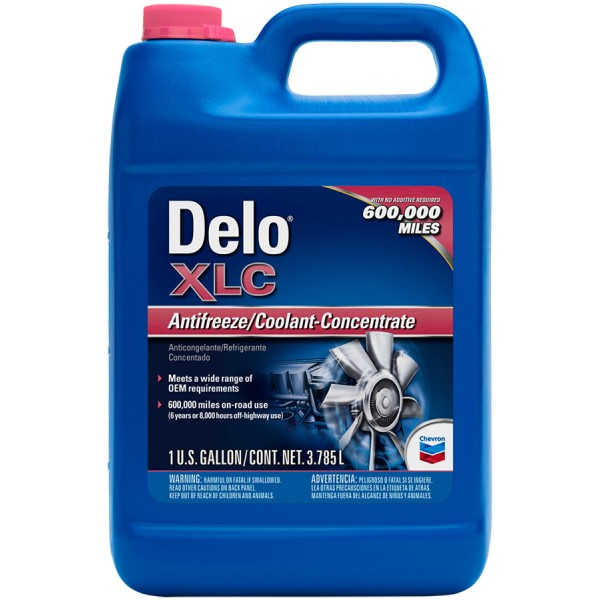 Охолоджуюча рідина Delo XLC Antifreeze/Coolant Concentrate, 5л