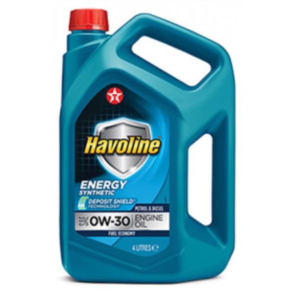 Моторне масло HAVOLINE ENERGY 0W-30, 4л