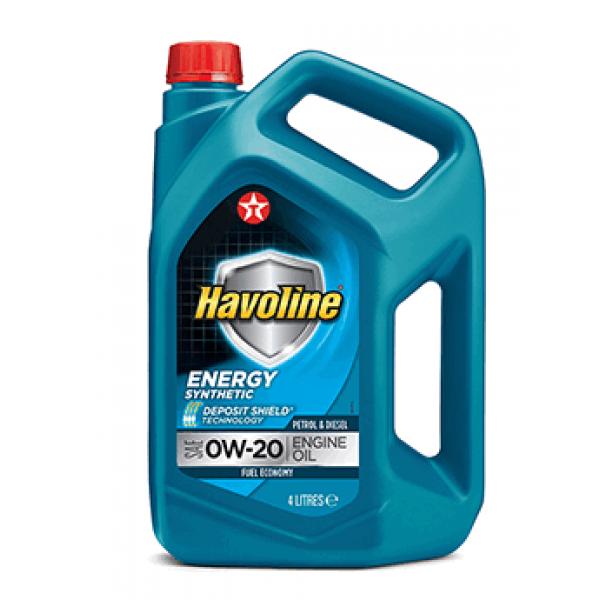 Моторне масло HAVOLINE ENERGY 0W-20, 4л