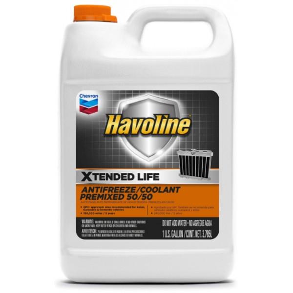 Охолоджуюча рідина Havoline XLC 50/50, 5л